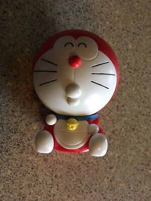 Bandai Kapukyaradora Doraemon Ganso Doraemon Head Red Figure Gashapon