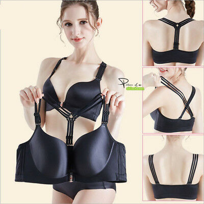 1646f5ebcad 34-48 BCDE Front Closure Back Beauty Women Bra Silky Satin Brassiere No  Rims 058
