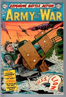Our Army At War #20 1954-Dc War-Pre Code!-Fn/vf Fn/vf