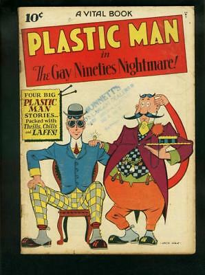 Plastic Man #2-1944-Gay Nineties Nightmare-Jack Cole    Vg/fn