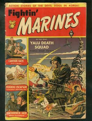 Fightin' Marines #2 1951-St John-1St Canteen Kate-Baker G+