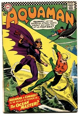 Aquaman #29 comic book First Ocean Master DCU villain 1966
