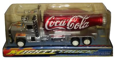 Coca-Cola Mighty Truck Bottle Plastic Model China