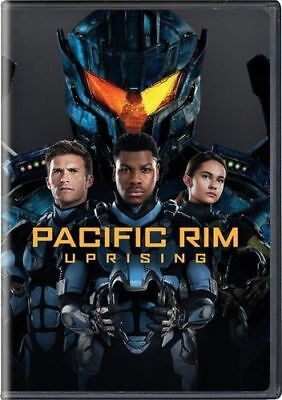 Pacific Rim Uprising (DVD,2018) NEW*Action, S/Fiction* PRE-ORDER SHIPS  06/19/18