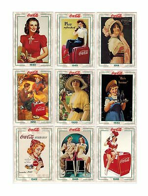 Coca Cola Collection Series 2 1994 Base Set 100 Cards