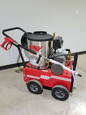 Used Hotsy 555ss Electric Hot Water Pressure Washer