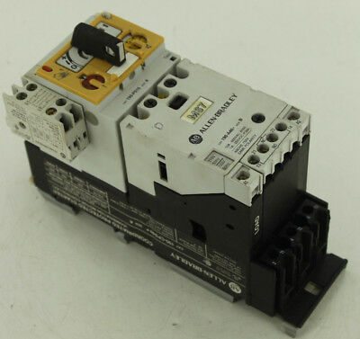 Allen Bradley Ab 190-Cps40A Coordinated Protected Starter / Motor Controller
