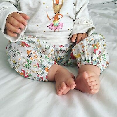 Little Annie Liberty Print Gallymoggers Baby Trousers / liberty baby / boden