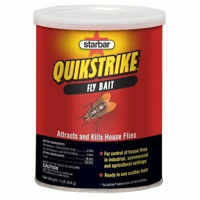 Quikstrike Fly Scatter Bait - 1 Pound Can - Fly Killer. It Works!!  1 LB.