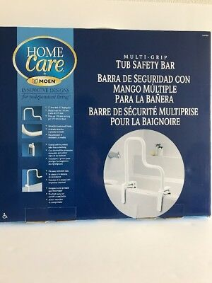 NEW IN BOX Moen DN7005 Home Care Multi Grip Tub Safety Bar