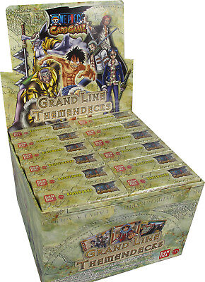 One Piece Grand Line Themendeck Display
