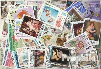 Dubai 100 different stamps
