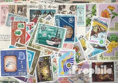 Dubai 200 different stamps