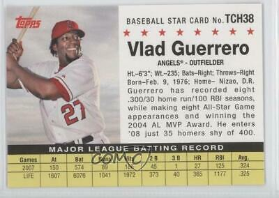 2008 Topps Trading Card History #TCH38 Vladimir Guerrero Los Angeles Angels