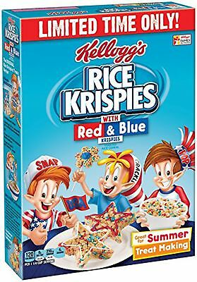 Rice Krispies Kellogg's, Red/Blue, 9.9 Ounce