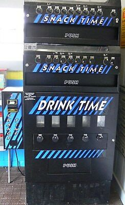 Dunda's VENDING MACHINE Counter/Freestand/Up to 3 TIER Stack/Coin/Manual-Parts