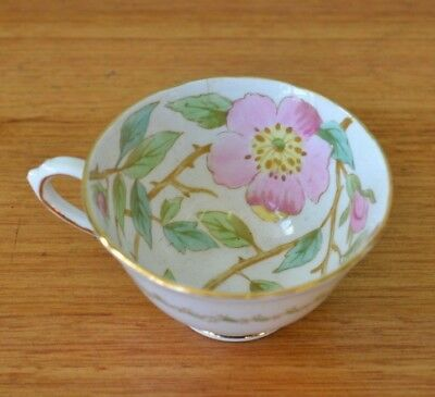 Vintage  tea cup flowers fine china Tuscan fine china ceramic  YLBT4