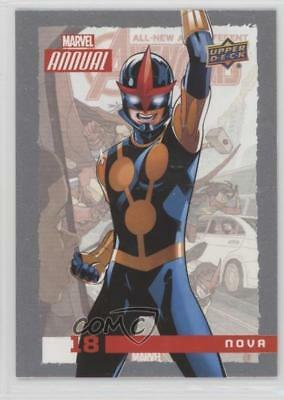 2016 Upper Deck Marvel Annual #18 Nova Non-Sports Card 0y3