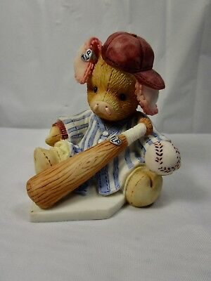 """1994 Enesco This Little Piggy """" This Piggy Cried Whee All The Way Home """" Figure"""