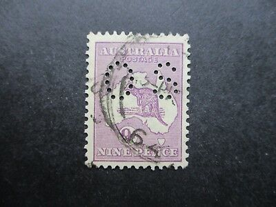 Kangaroo Stamps (Used) - Third Watermark - Great Item (F317)