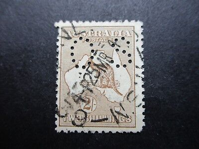 Kangaroo Stamps (Used) - Third Watermark - Great Item (F312)