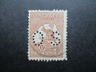 Kangaroo Stamps (Used) - Third Watermark - Great Item (F318)