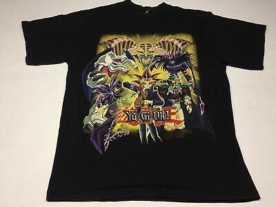 Vintage Yugioh T Shirt Men's Small Medium 90s Trading Card Boys 1996 Excellent