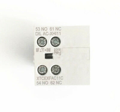 H● on,Moeller DILAC-XHI11 Auxiliary Contact
