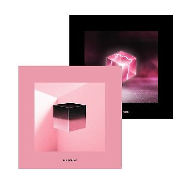 BLACKPINK - SQUARE UP [Pink+Black ver. SET] 2CD+Double-Side Poster+Free Gift