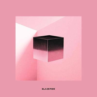 BLACKPINK-[Square Up]1st Mini Album Pink CD+Poster+Booklet+etc+Gift+Tracking