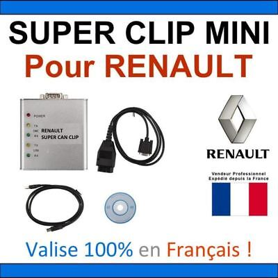 SUPER CLIP MINI - Valise RENAULT et Multimarques - OBD2 MULTIDIAG AUTEL