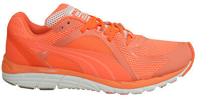 05f218c1e7b0 Puma Faas 600 S Glow Womens Trainers Running Shoes Lace Up 186796 01 D24