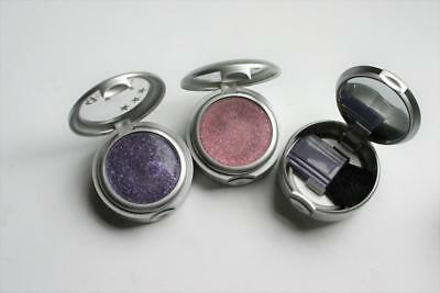 GIRL cosmetics GLITTER HIGHLIGHTER  purple pink body face  MIRROR COMPACT RARE