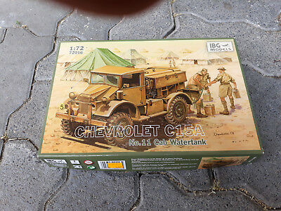 Bausatz IGB Chevrolet C15A No.11 Cab Watertank, neu, 1:72