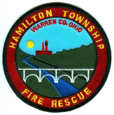 Hamilton Township Twp Fire Rescue Department Unit 3 Station 76 77 Patch Ohio OH