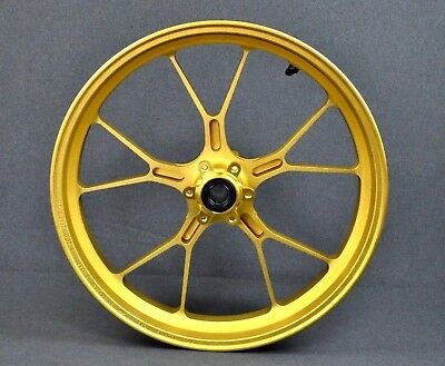 New Genuine Aprilia Rsv1000 2004-2008/ Tuono 2005-2009 Front Wheel, Gold 853375
