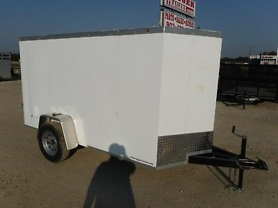 5 x 10ft Enclosed Cargo Tool Equipment Bike Welding Trailer Dallas Greenville TX