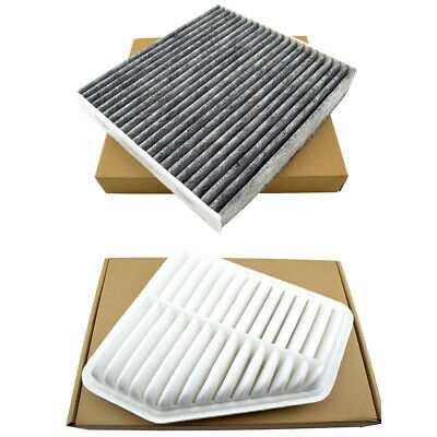Combo Set Engine & Cabin Air Filter for 09-14 Venza 05-12 Avalon 07-11 Camry V6