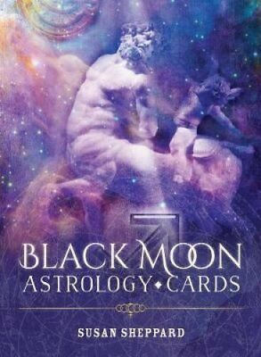 Black Moon Astrology Cards by Susan Sheppard 9781925538212