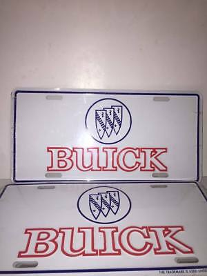 Buick Front Metal License Plate