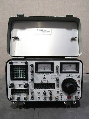 IFR FM/AM-1000 A Communication Service Monitor S/N 1640 For Parts Or Repair