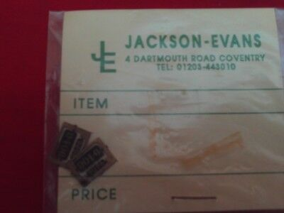 JACKSON-EVANS 4mm OO GAUGE ETCHED BRASS LOCOMOTIVE NUMBER PLATES NEW.