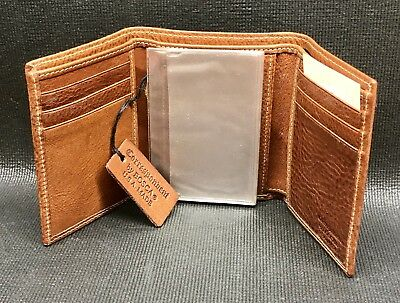 Bosca Correspondent USA Made Genuine Leather Wallet