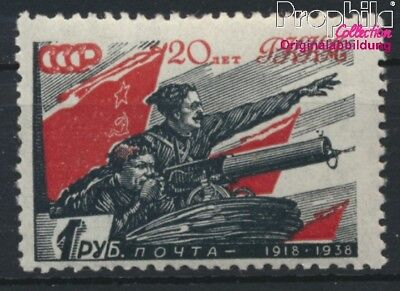 Sowjet-Union 594 postfrisch 1938 Rote Armee (8985328