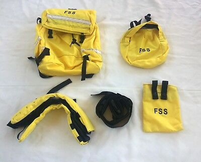 New Field Pack ,Firefighter's Helena Industries (5 Pieces all in one Bag)
