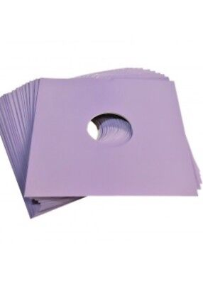 """50 X 12"""" Purple Card Record Masterbags Sleeves / Covers *new*"""