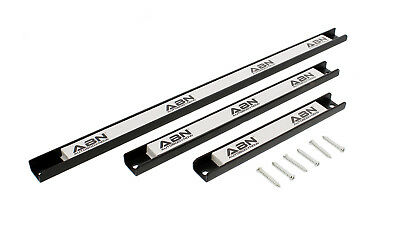 "ABN Magnetic Tool Holder 3-Piece Set 8"" 12"" 18"" Inch Strips with Mounting Screws"