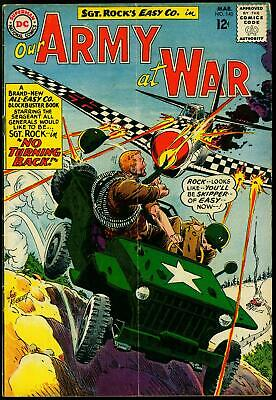 Our Army at War #140 1964- Sgt Rock Easy Company- Kubert cover VG