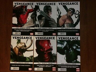 Vengeance #1-6 Complete Set 1st Appearance Miss America Chavez NM or Better