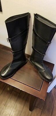 Sephiroth Cosplay Boots. Mens size 9.5/ 10